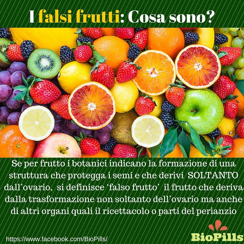 Non tutti i frutti sono frutti