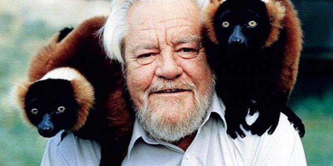 Gerald Durrell: una vita per la salvaguardia delle specie a rischio estinzione
