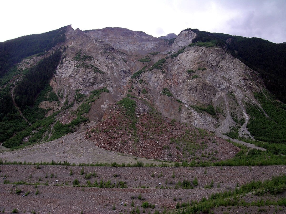 frane e geologia