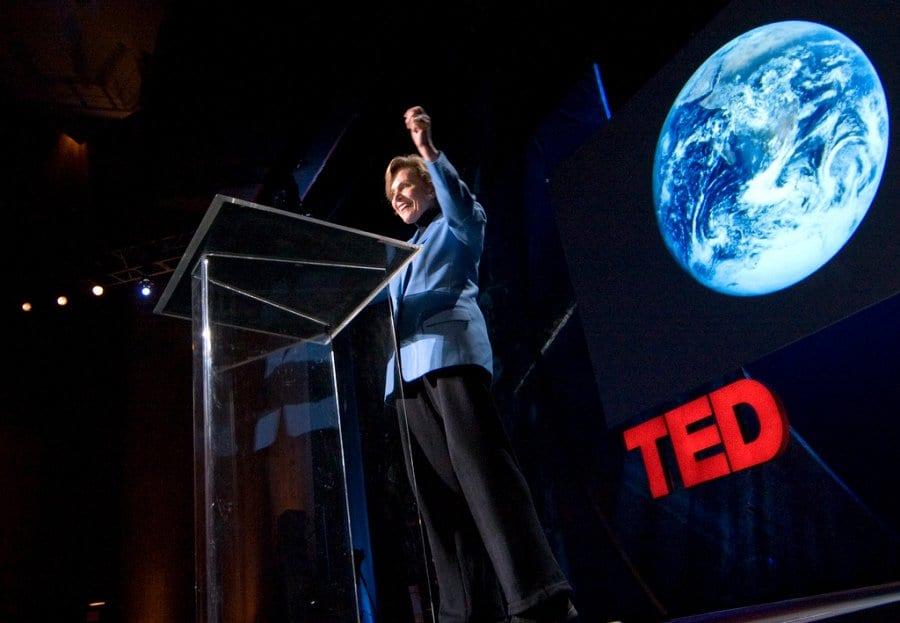 Sylvia Earle vince il premio TED