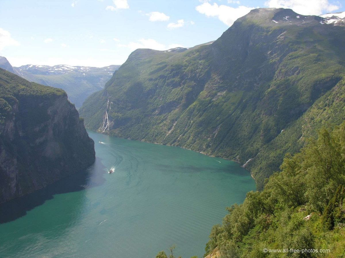 fiordi, il Geirangerfjord