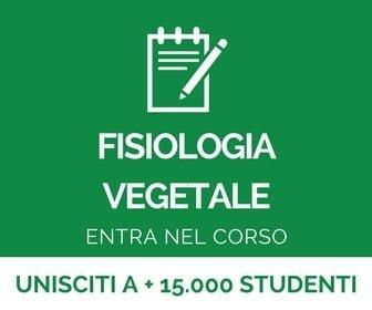 corso di fisiologia vegetale