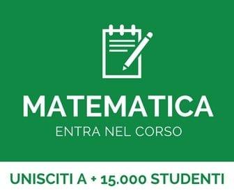 corso di matematica