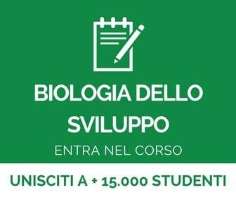 corso di biologia dello sviluppo