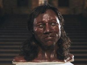 il volto dell'uomo primitivo di Cheddar