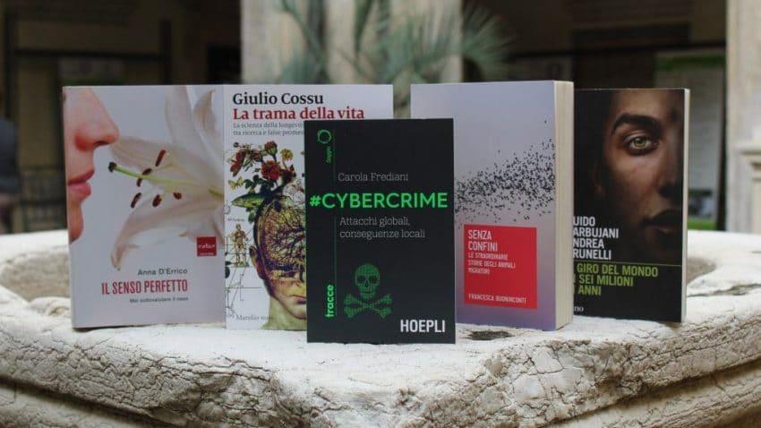 Foto dei libri finalisti della quattordicesima edizione del Premio Galileo