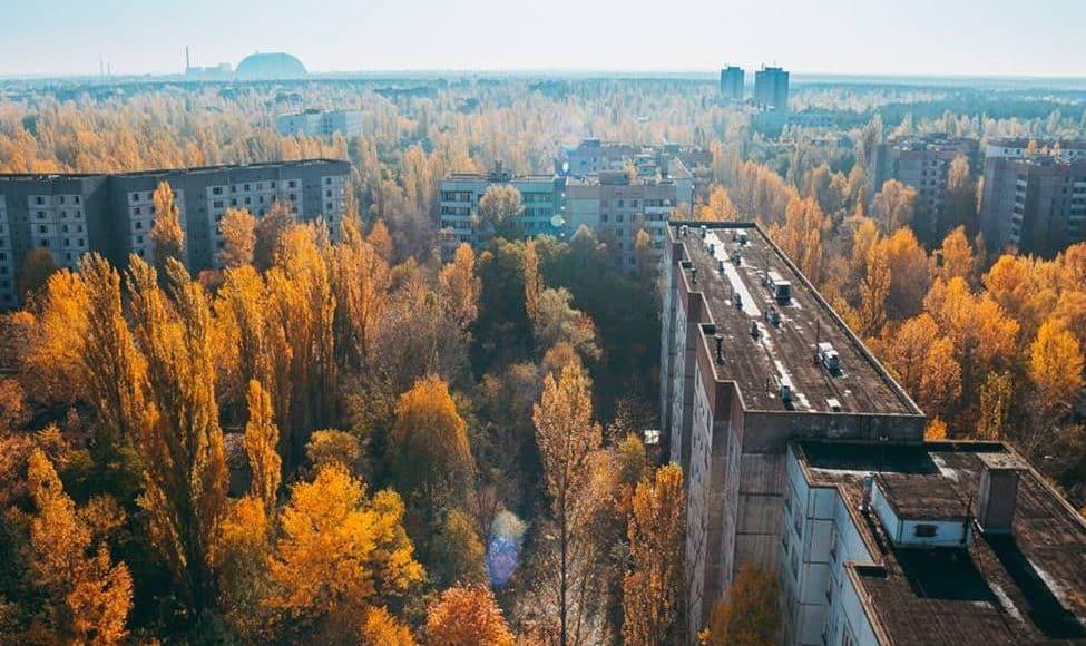 Pripyat, Ucraina, nella zona di Chernobyl