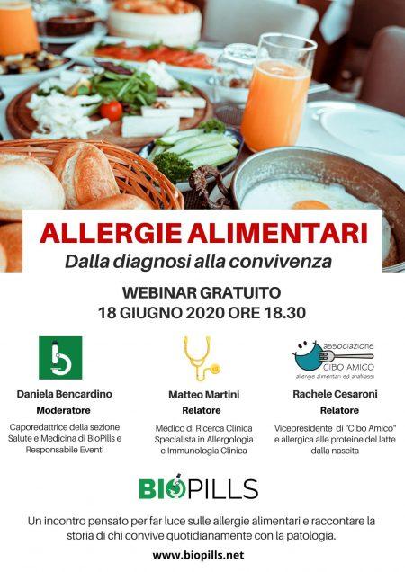 allergie alimentare webinar