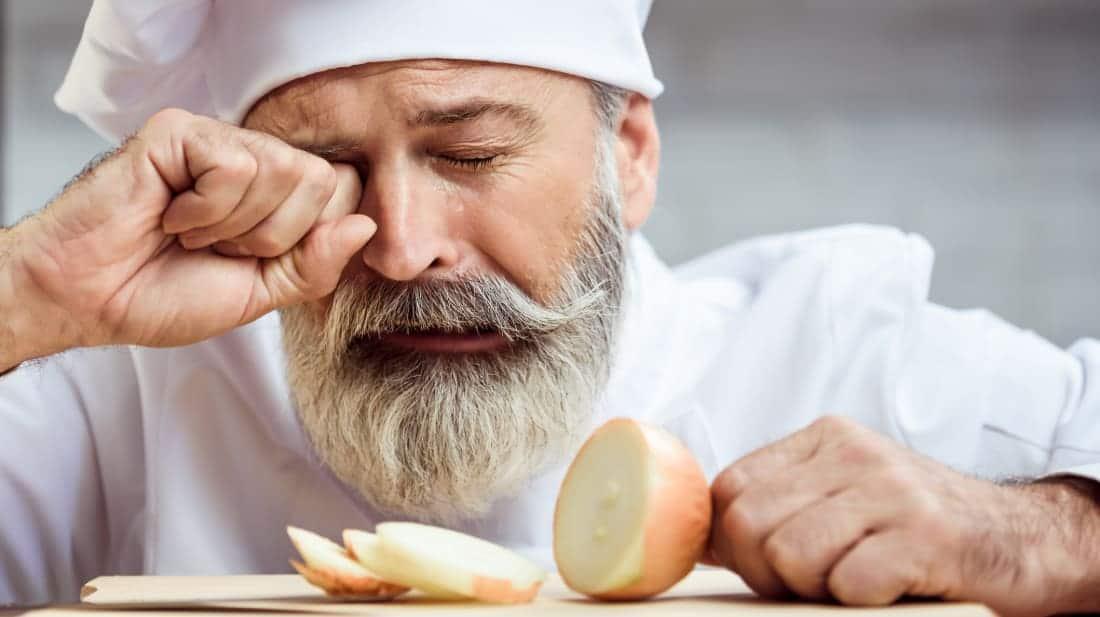 perchè le cipolle fanno piangere?