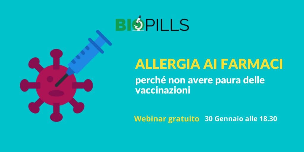 allergia ai farmaci webinar