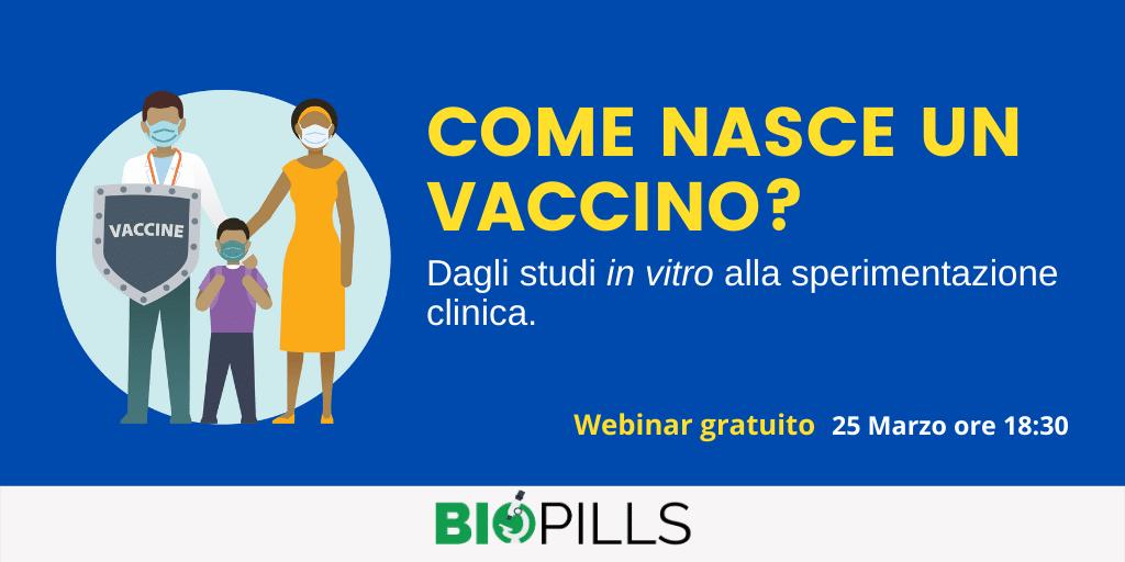 come nasce un vaccino webinar