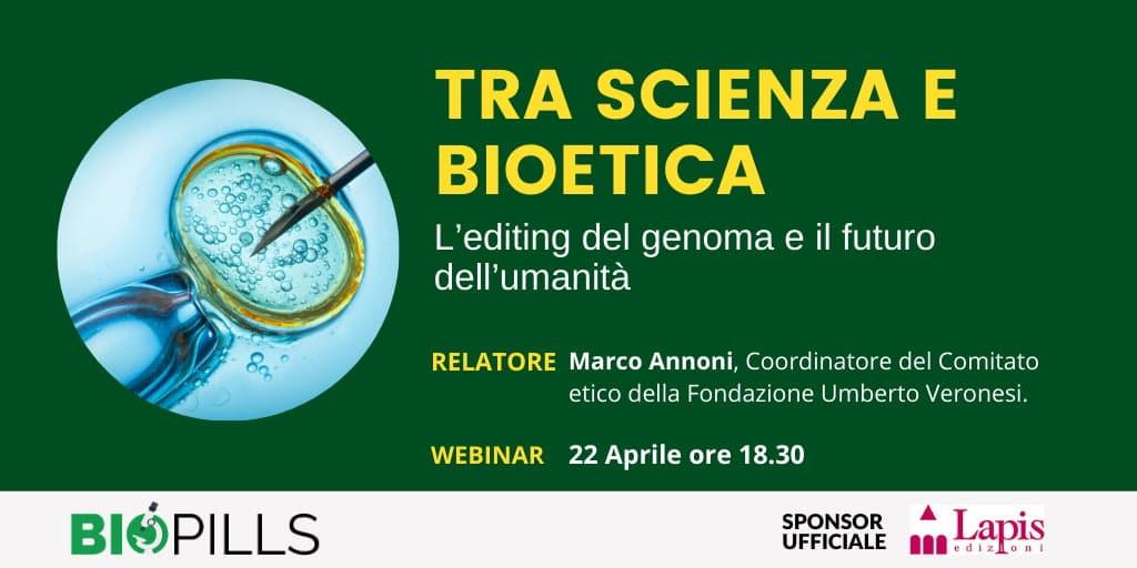 webinar scienza e bioetica